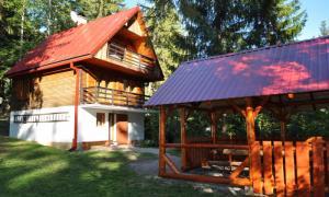 Chata v Nizkych tatrach